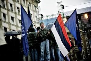 Meeting du SRS à Belgrade. Photo : Juliette Robert/Youpress