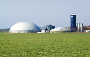 Une centrale de biogaz de Xergi au Danemark. photo : Xergi