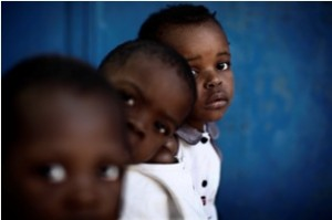 Les enfants de Coeur-de-Marie. Photo: C.Fohlen/Fédéphoto
