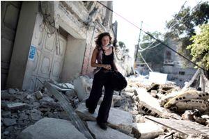 Leila Minano, reporter Youpress. Photo : C. Fohlen/Fédéphoto