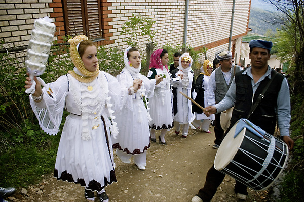 Mariage traditionnel Gorani à Kukaljane