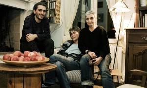 Pablo et ses deux mères. photo Juliette Robert/Youpress