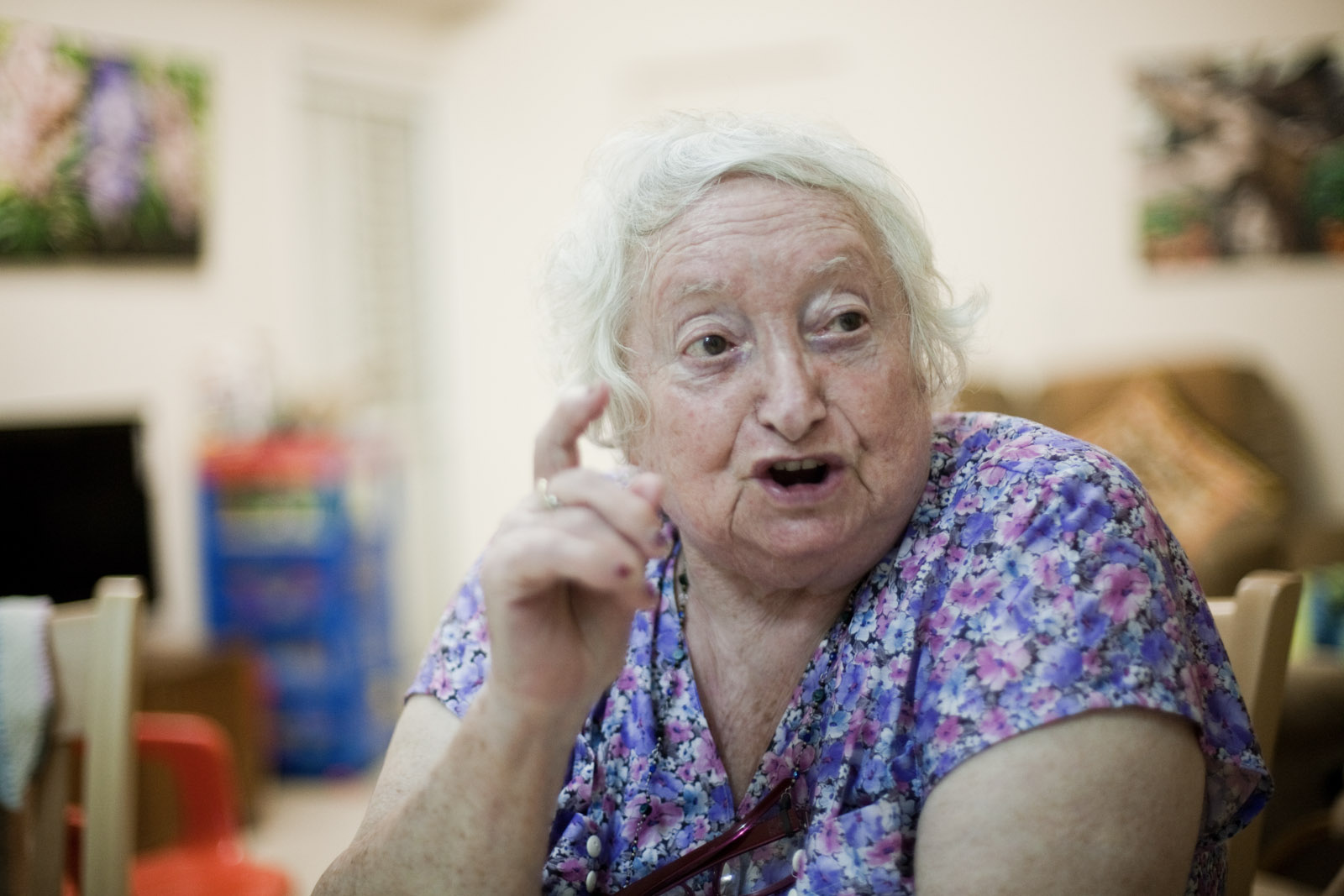 Tova, la mère franco-lithuanienne de Tsila.