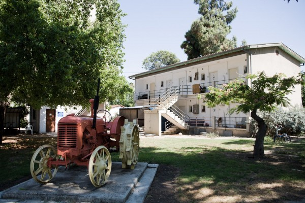 A Degania, les vestiges de l'histoire de ce tout premier kibbutz sont nombreux. C'est un des kibbutzim les plus visités. © Juliette Robert