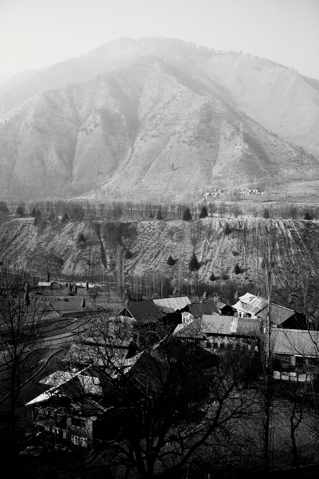 Village in north Kashmir