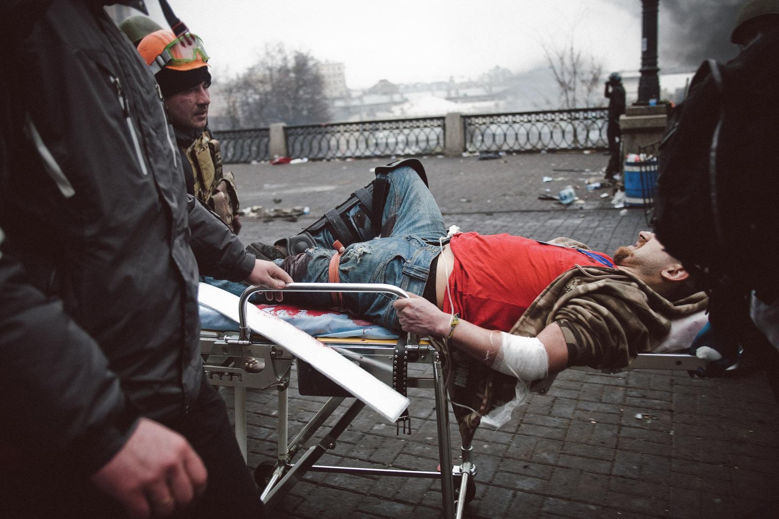 Kiev : sur les barricades