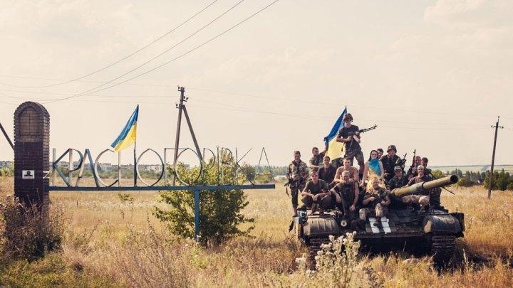 Oxana Chorna et le 20ème régiment de défense territoriale de Dniepopetrovsk © Oxana Chorna