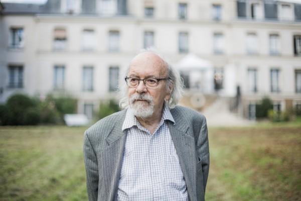 Kosmas Koronéos, 81 ans, philosophe, écrivain ©Juliette Robert/Youpress