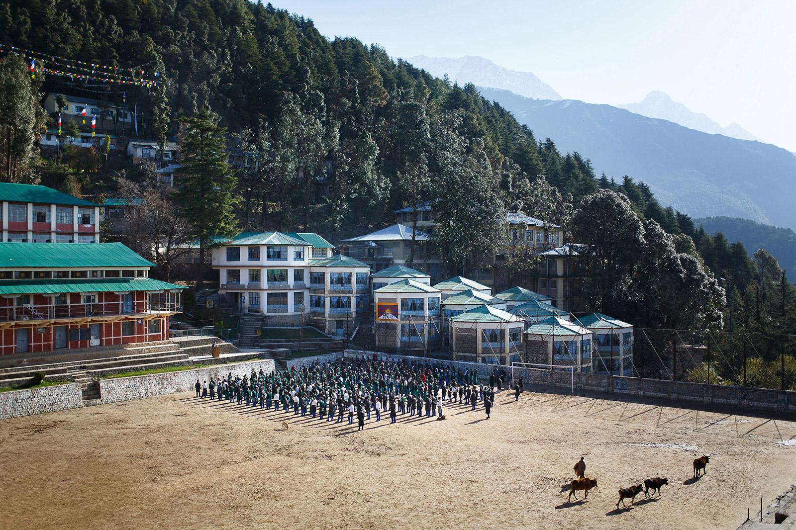 Le Tibetan Children's Village à Dharamsala, en Inde, accueille