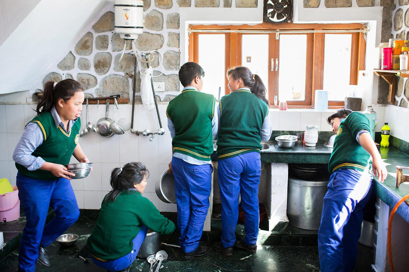 Cuisine, lessive, nettoyage, vaisselle : toutes les tâches mén