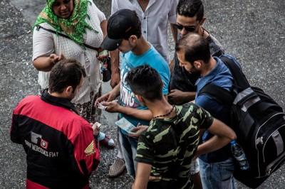 Passeurs à Izmir © Chris Huby/Haytham Pictures