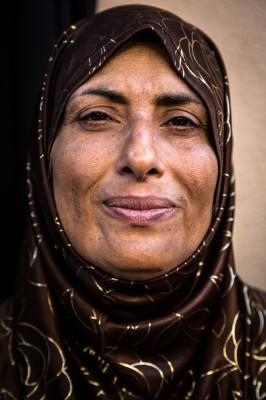 Une réfugiée à Izmir ©Chris Huby/Haytham Pictures