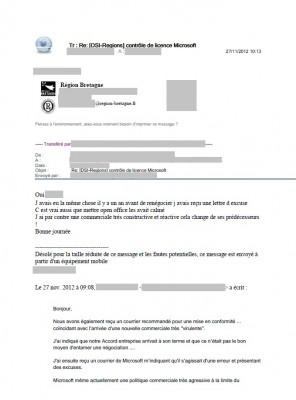 Email interne, 2012 (1/3)