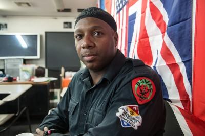 Isha Middleton, volontaire au sein du BSVAC et ambulancier pour les pompiers de New York © David Breger