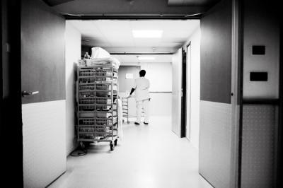 Dans une hôpital de la région parisienne © Juliette Robert/Youpress/Haytham