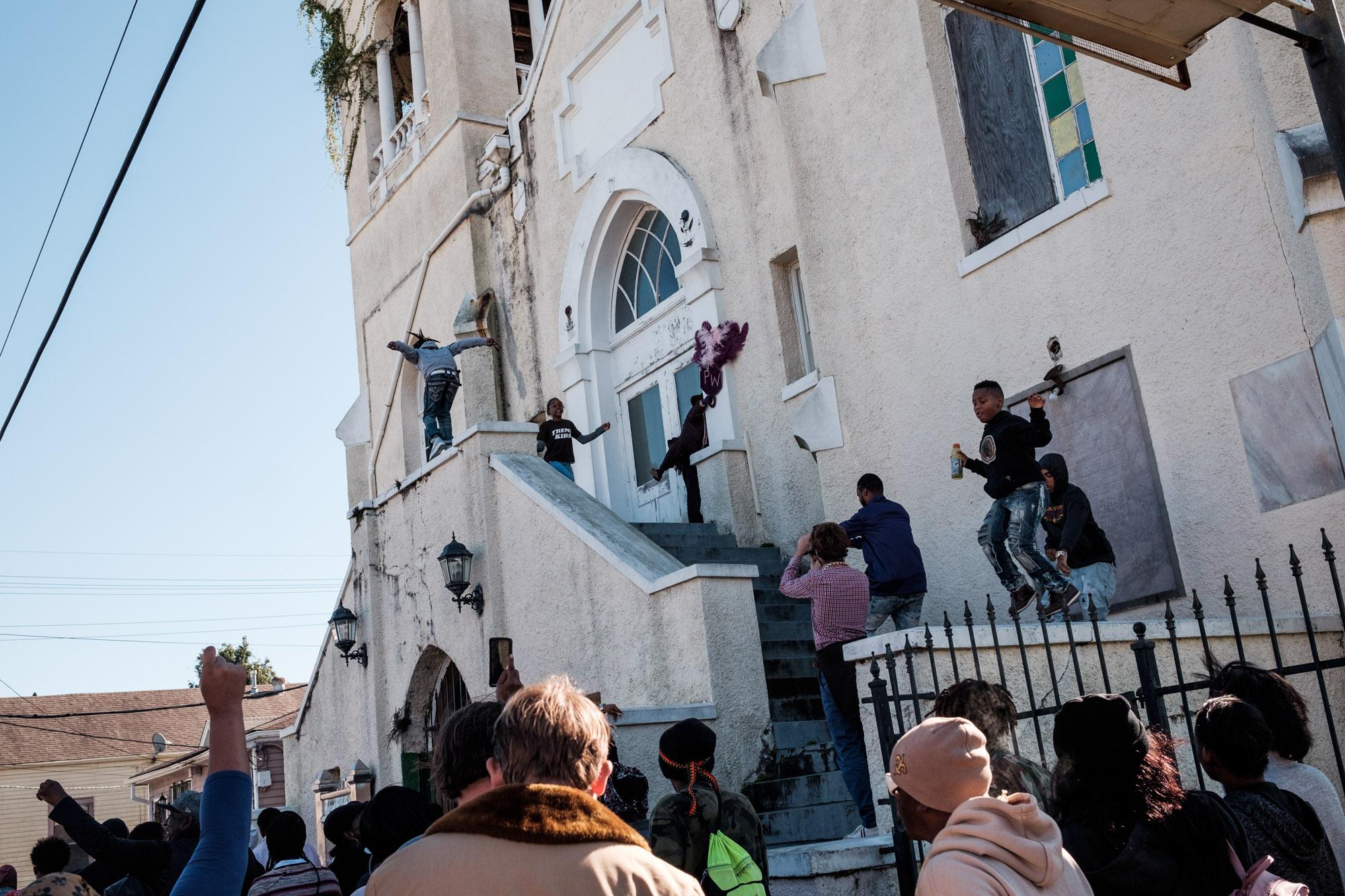 Parades Second Lines de la Nouvelle Orleans