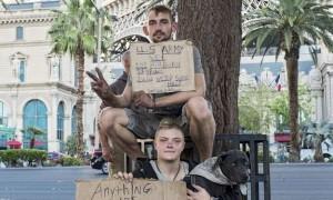 Le tout jeune vétéran de l'armée Scott et son épouse Lisa, enceinte, espéraient une vie meilleure sous les palmiers. © Eugénie Baccot